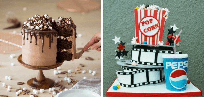 8 Diy Masculine Birthday Cakes