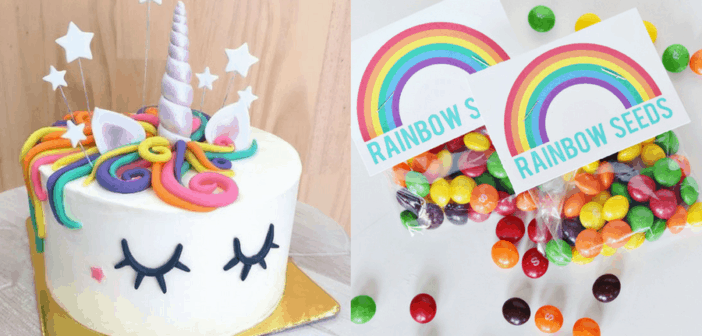 Diy Unicorn Rainbow Party