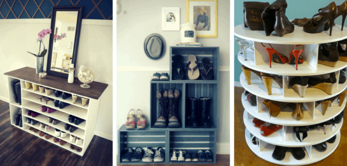 5 Stylish Diy Shoe Racks