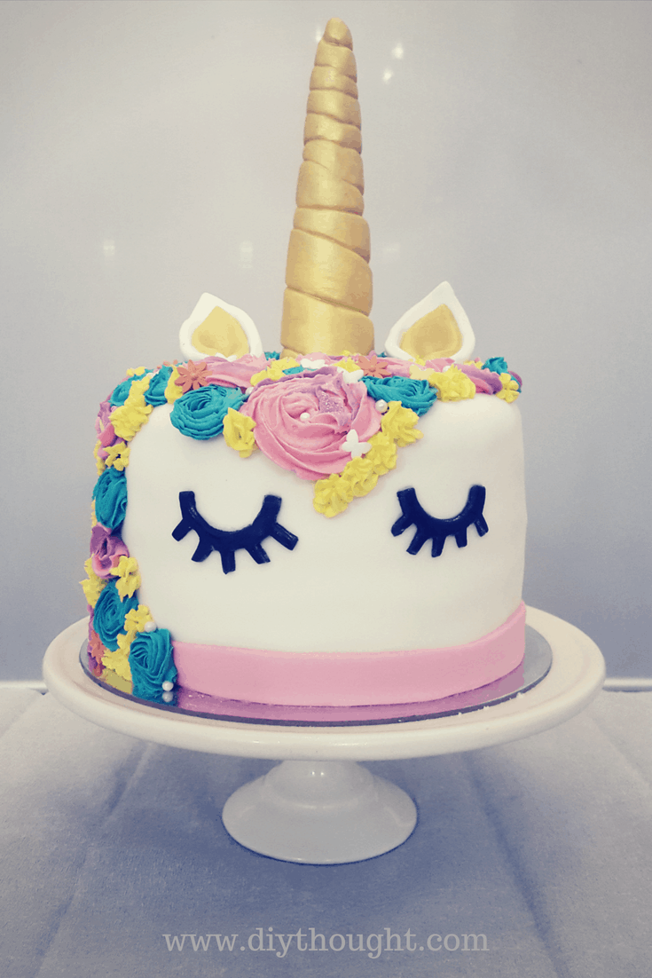 Diy Unicorn Rainbow Party Diy Thought
