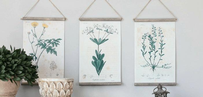 5 Diy Beautiful Botanical Wall Hangings