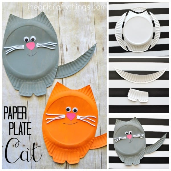 5 Cat Crafts For Young Children Diy Thought