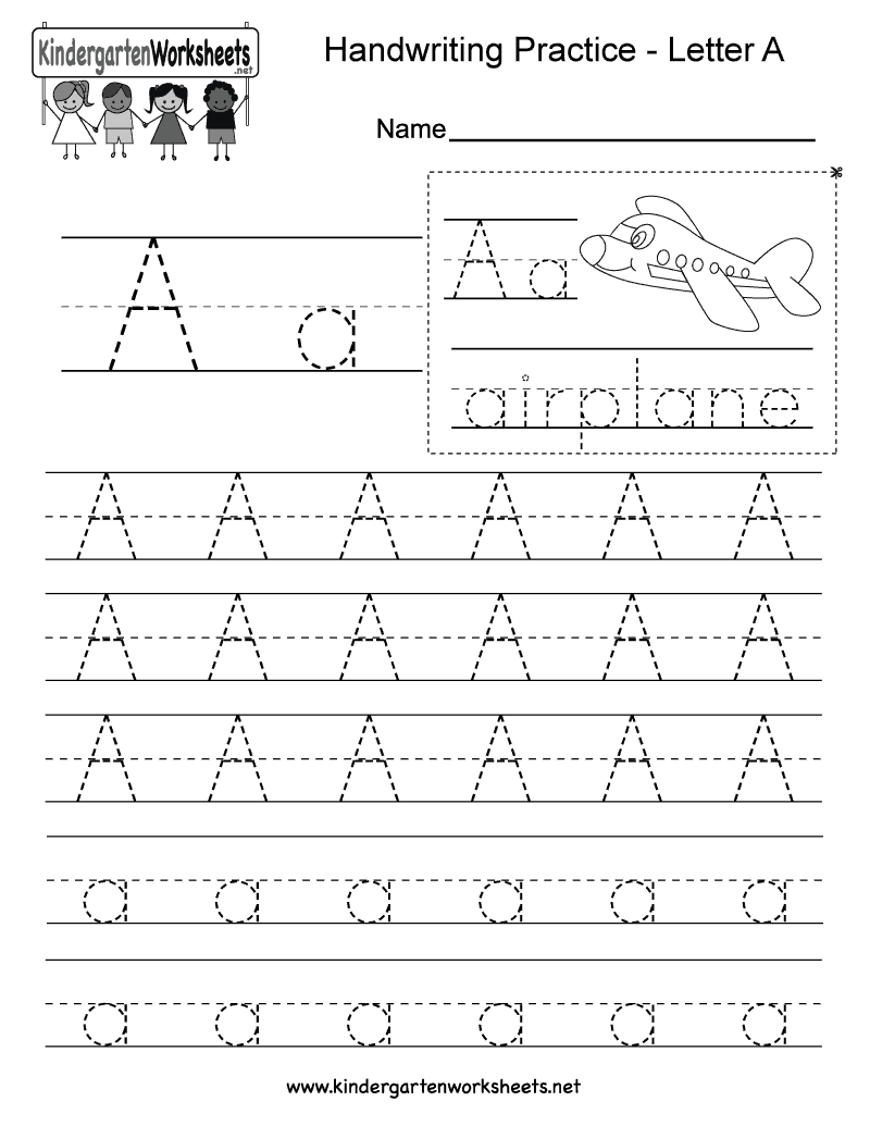 photo regarding Letter Printables identify 5 Letter A Preschool Printables - do it yourself Notion
