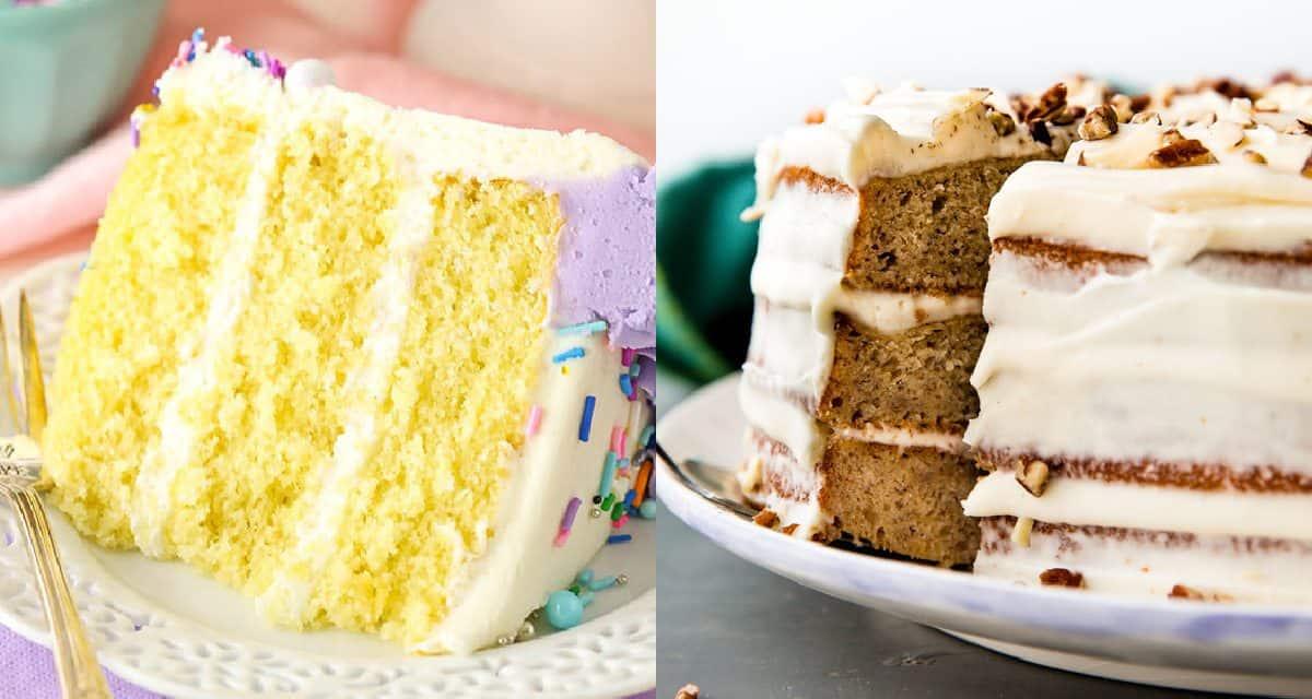 Cake Recipes In Pdf: 7 Perfect Birthday Cake Recipes