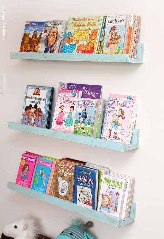 ledge bookshelves - Cute Bookshelves