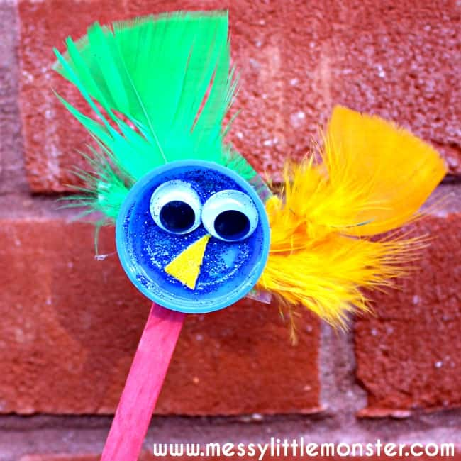 6 Plastic Bottle Cap Kids Crafts Diy Thought
