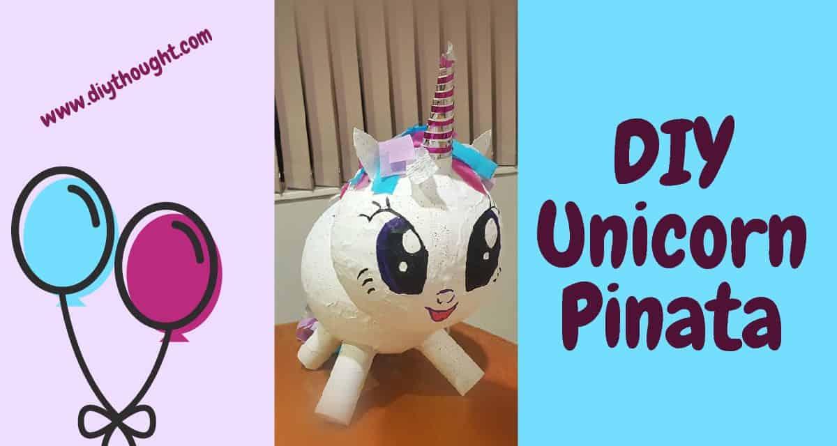 diy paper maché unicorn head | the love designed life | 640x1200