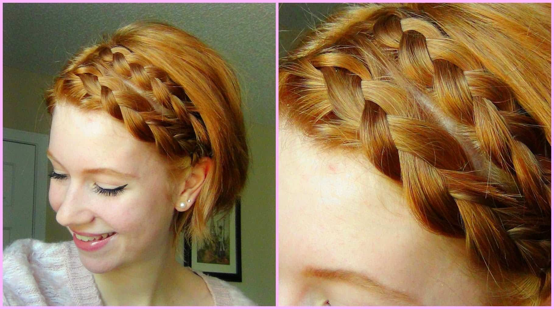 8 Stylish Braids For Short Hair Diy Thought