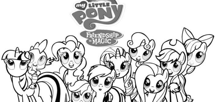 Free my little pony kids printables diy thought for My little pony halloween coloring pages