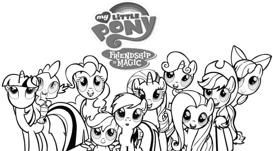 - Free My Little Pony Kids Printables - Diy Thought