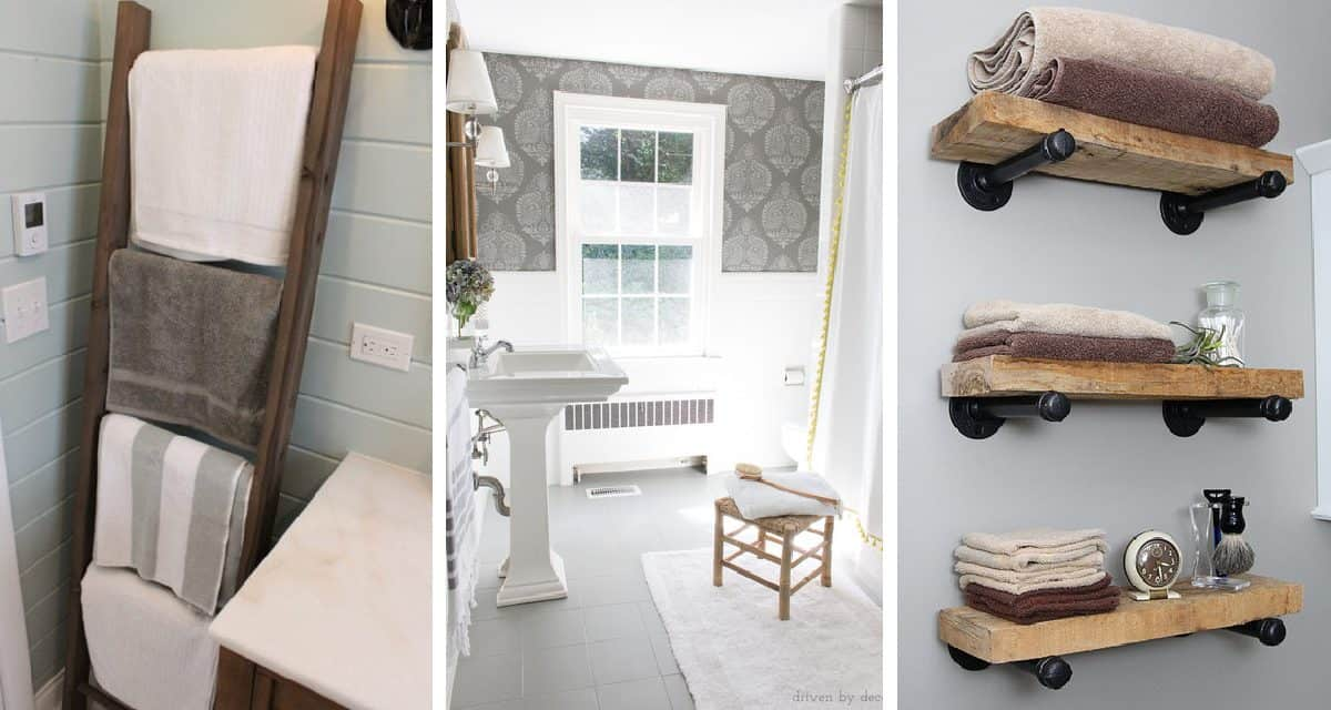 8 Diy Projects To Update Your Bathroom
