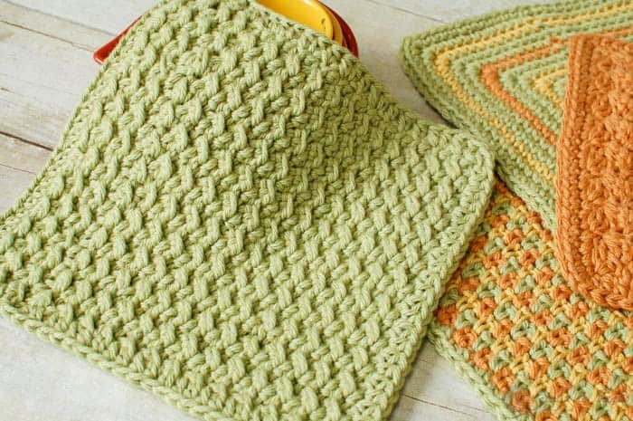 6 Of The Best Free Homemade Washcloth Dishcloth Patterns Diy Thought