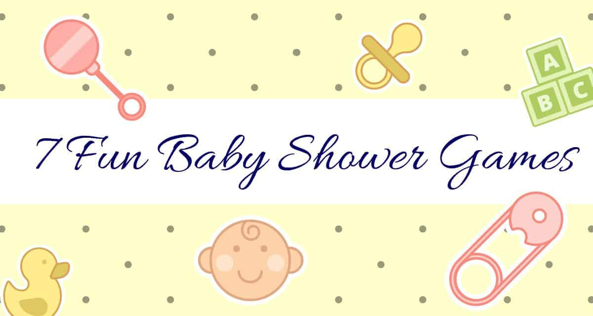 7 Fun Baby Shower Games Diy Thought