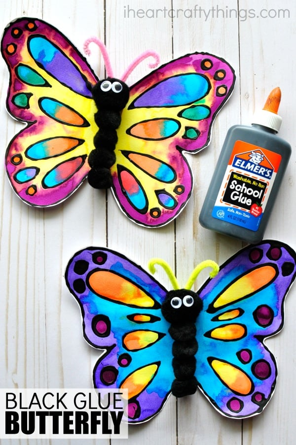 12 Diy Butterfly Arts Crafts