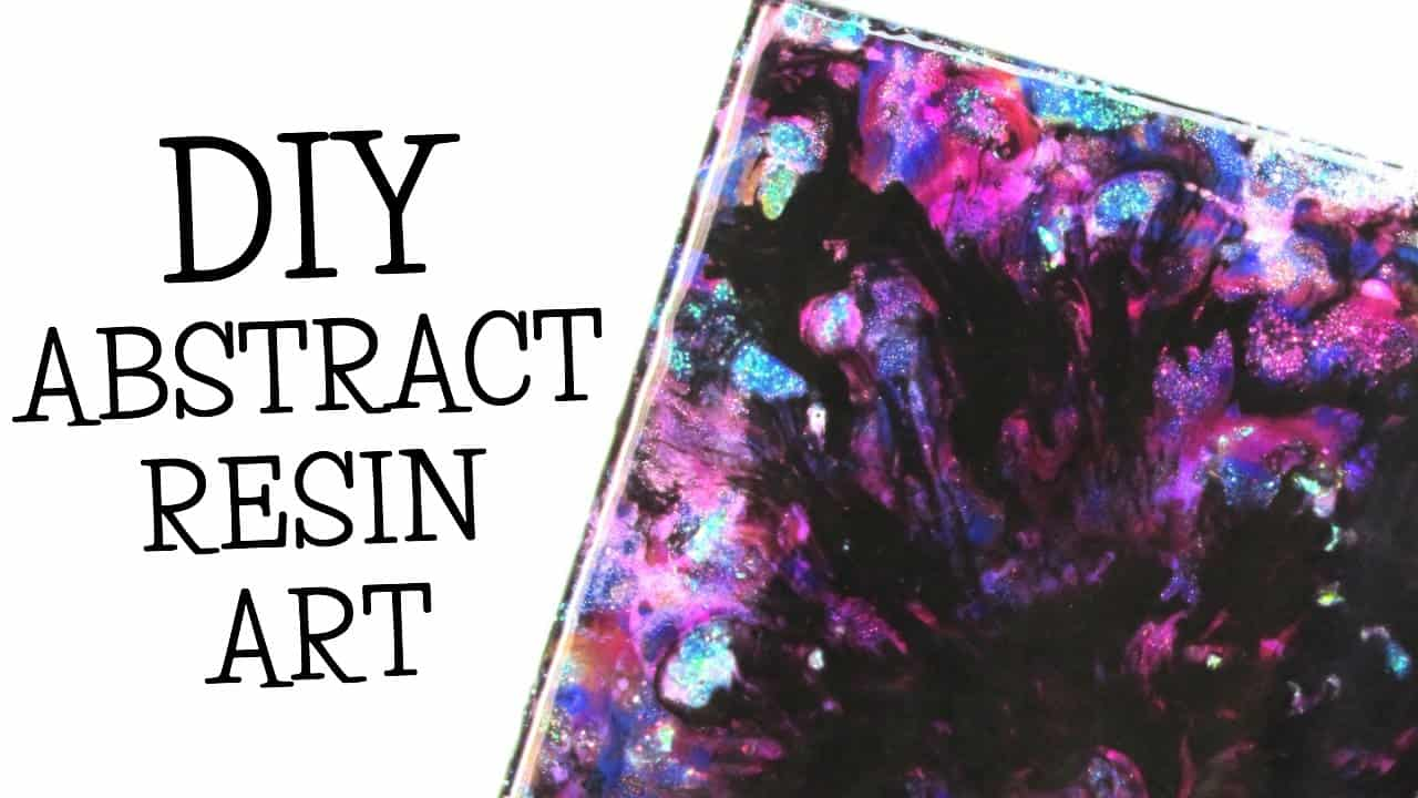 How To Create A Resin Pour Art Masterpiece - diy Thought