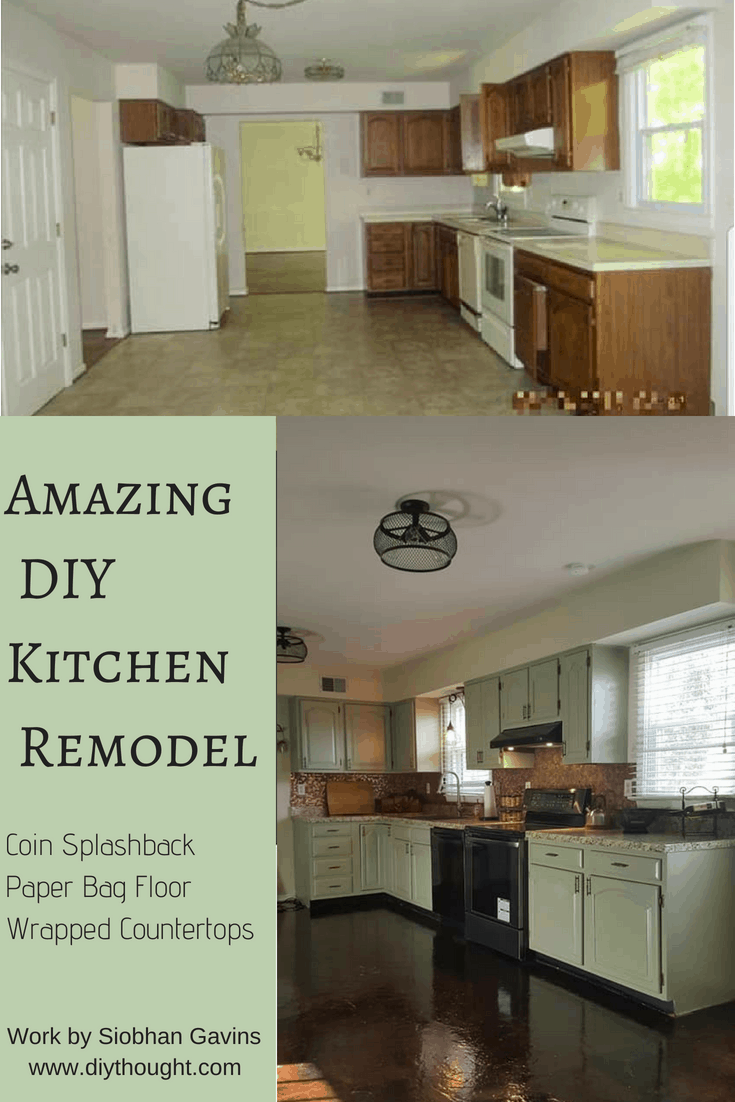 Amazing Diy Kitchen Remodel For 670 Diy Thought