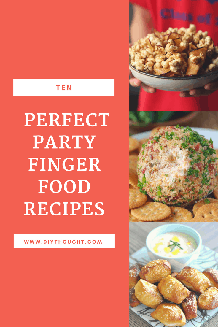 ten party finger food recipes