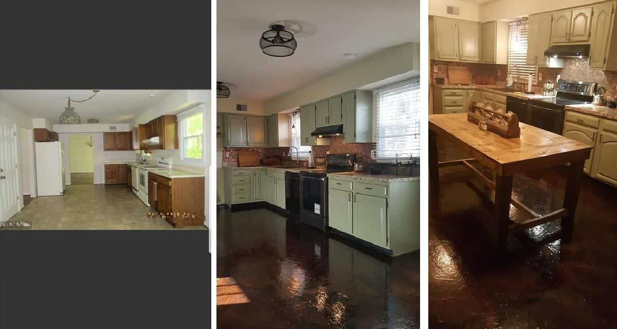 Amazing Diy Kitchen Remodel For $670!