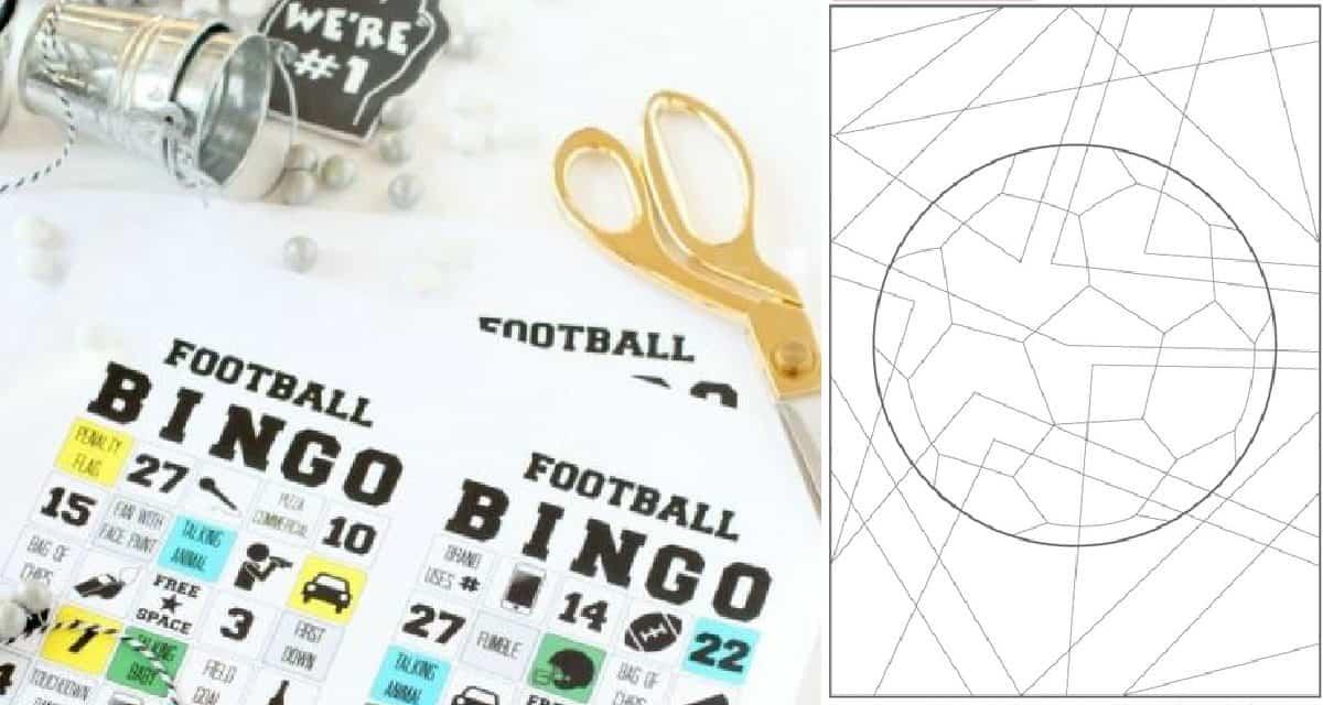 5 Fun Football/ Soccer Kids Printables