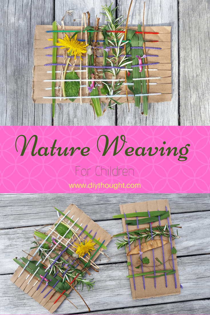 8 Kids Outdoor Nature Crafts Diy Thought