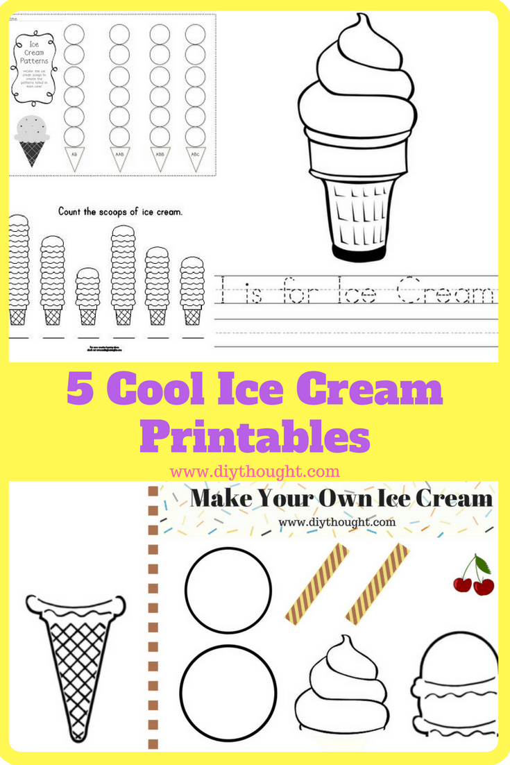 photograph regarding Cool Printables called 5 Amazing Ice Product Printables - do-it-yourself Principle