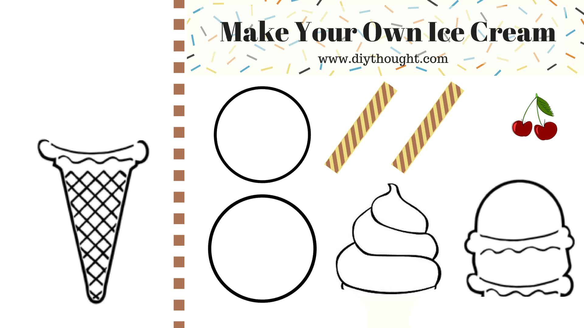 picture relating to Cool Printables titled 5 Neat Ice Product Printables - do-it-yourself Idea