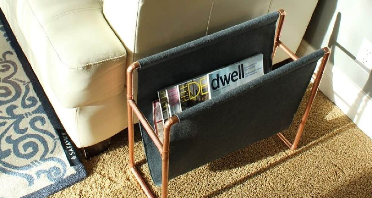 5 Amazing Diy Magazine Racks