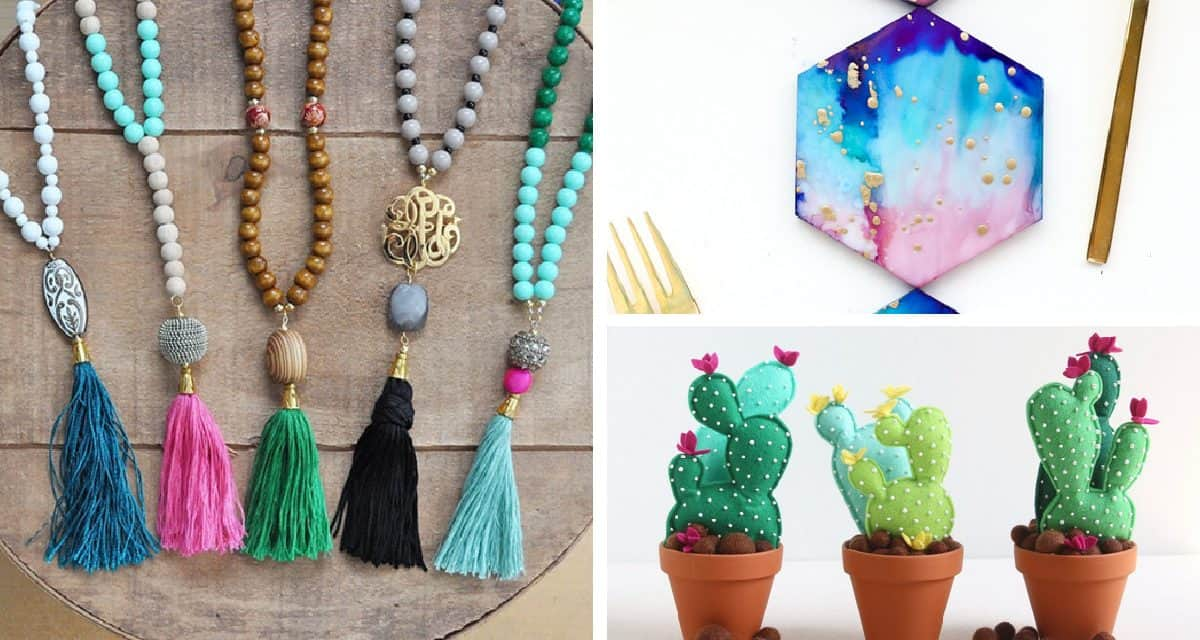 12 Easy Crafts To Make And Sell Diy Thought