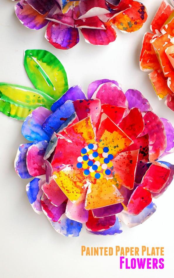 9 Stunning Diy Flower Crafts 1 Paper Plate Flowers