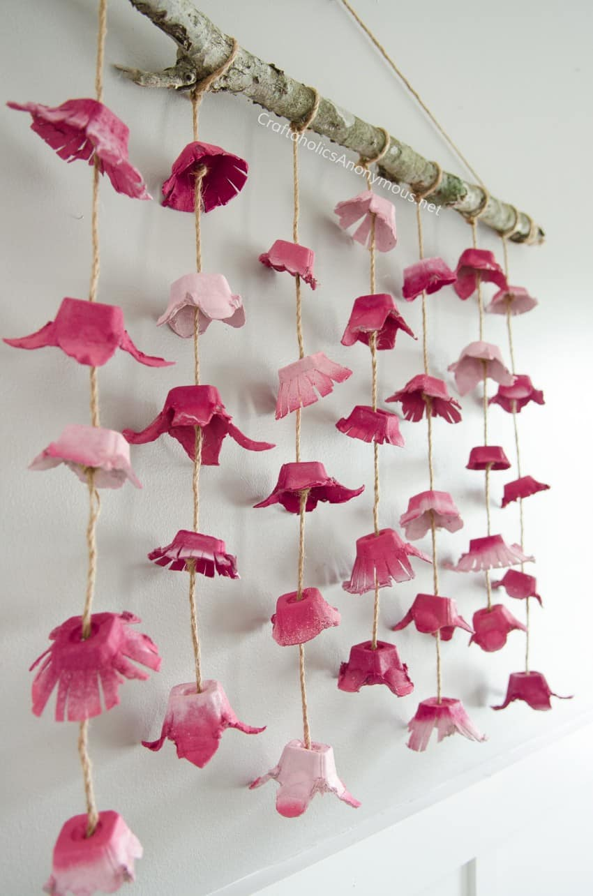9 Stunning Diy Flower Crafts Diy Thought