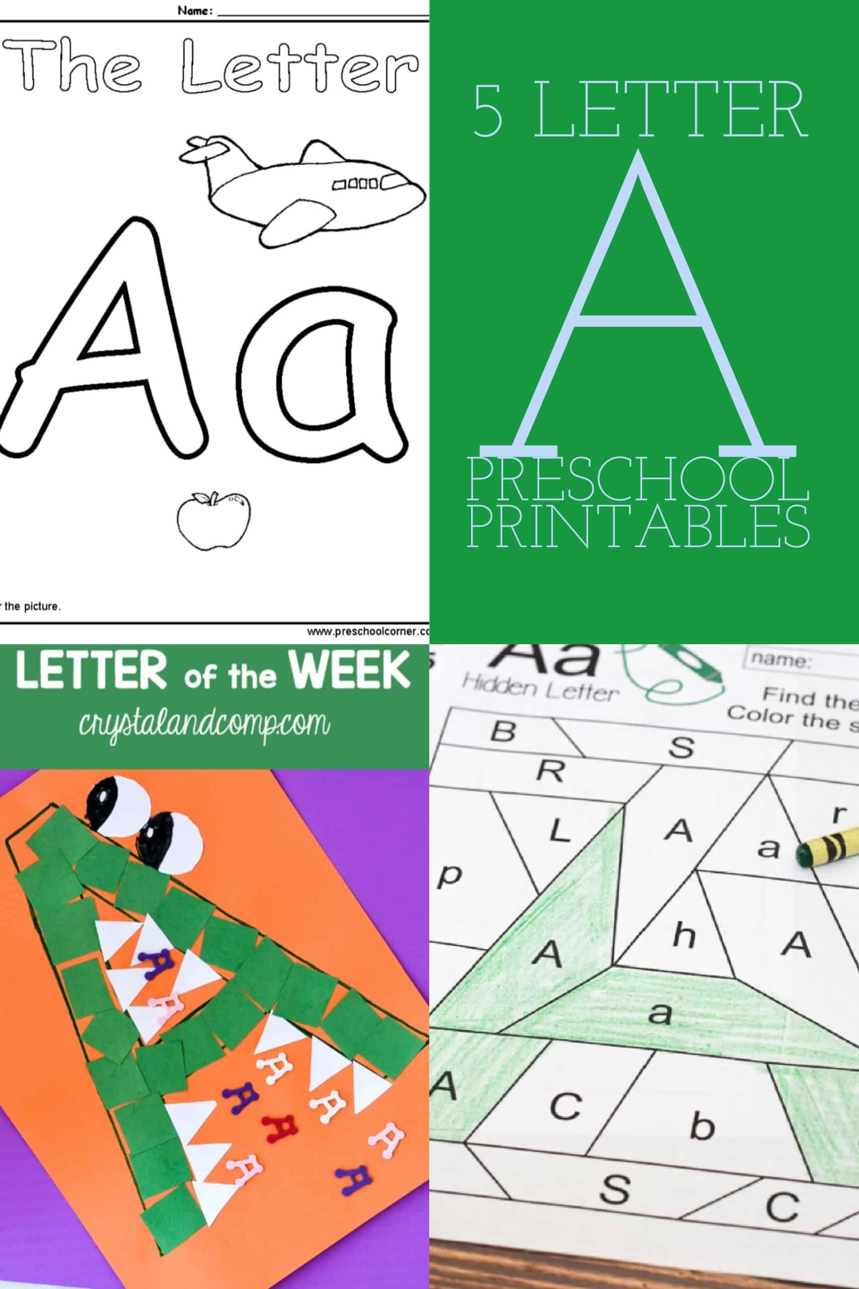 5 Letter B Preschool Printables - diy Thought