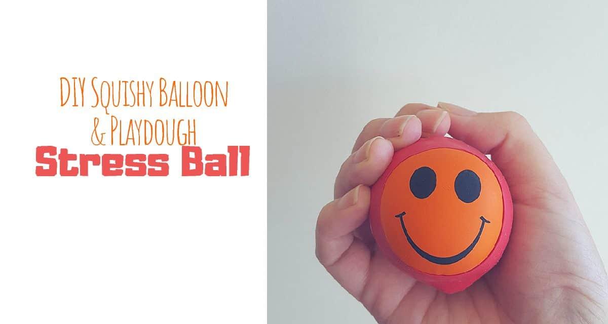 DIY Squishy Balloon & Playdough Stress Balls