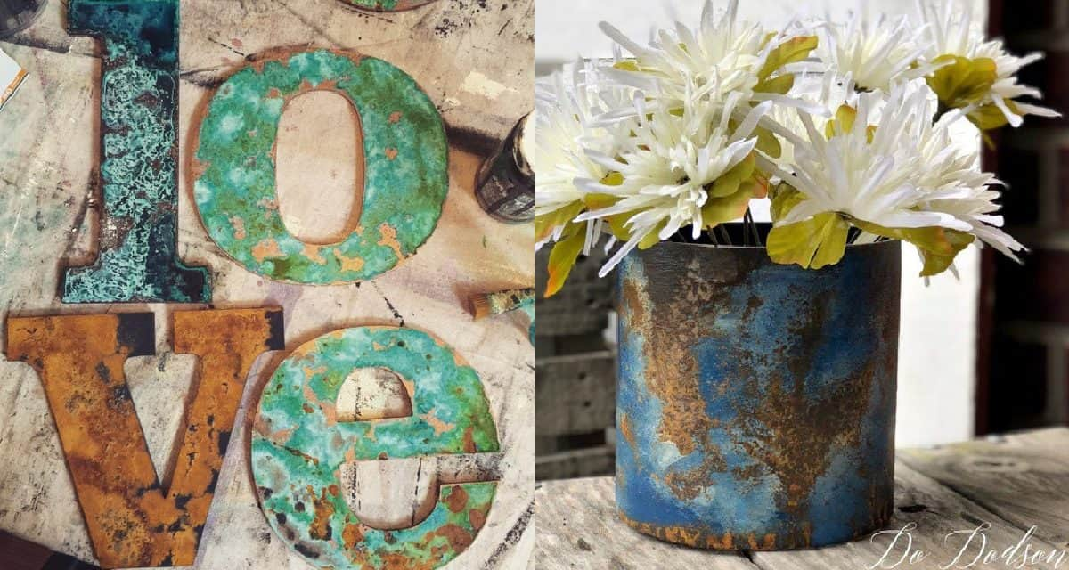 6 Fun Rust & Patina Paint Projects