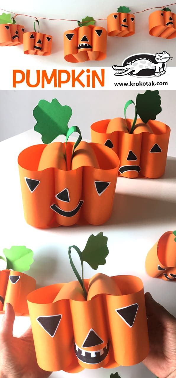 Breathtaking Pumpkin Crafts For Kids
