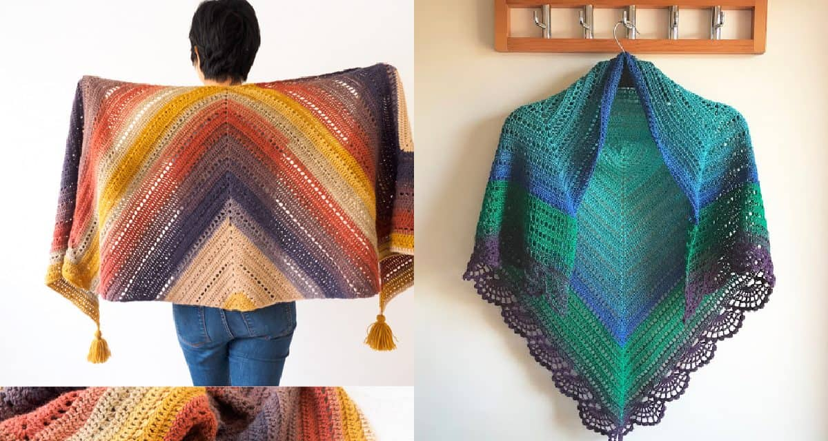 5 Stunning Diy Crochet Shawl Wrap Patterns Diy Thought