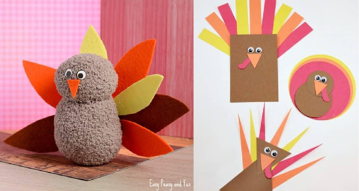 8 Turkey Crafts For Kids