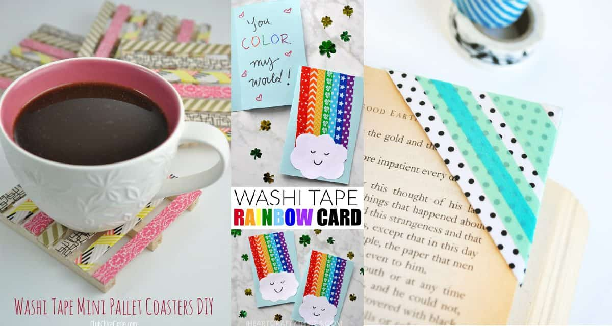 12 Fun Washi Tape Crafts