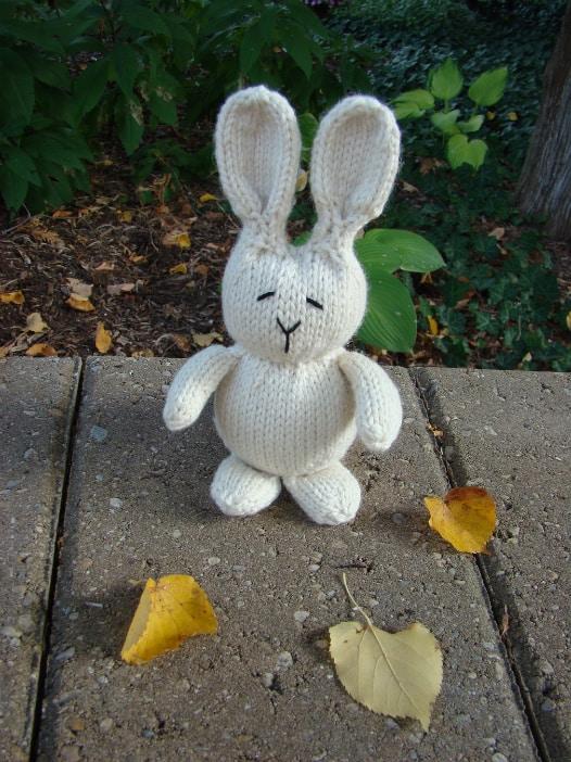 rabbit toy pattern
