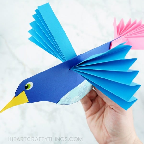 How to Make Origami Flying Birds - Friday Fun - Aunt Annie's Crafts | 600x600