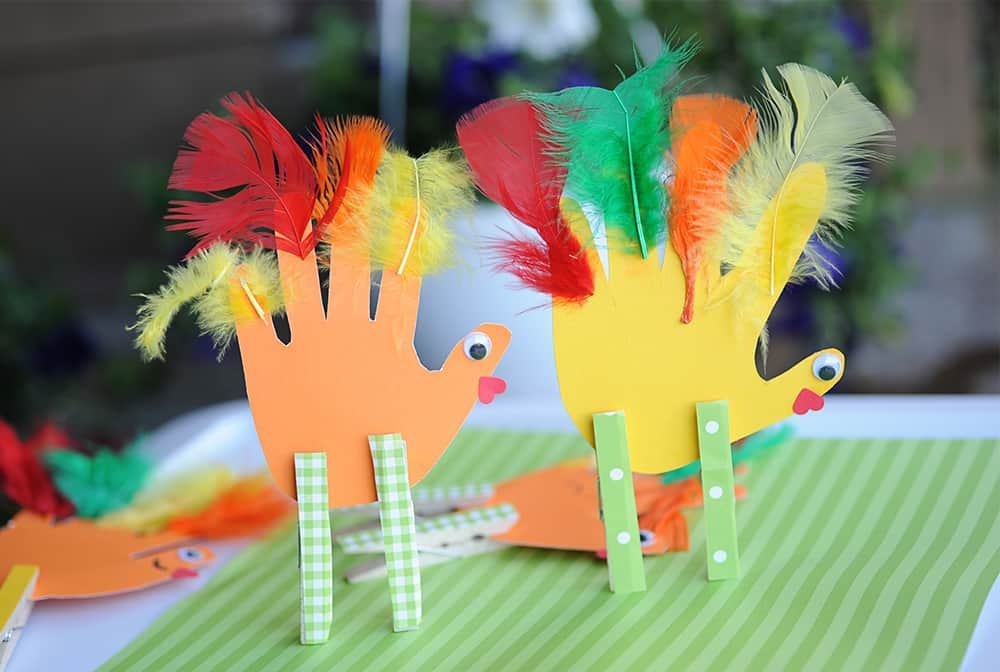 10 Fun Feather Crafts For Kids - diy Thought
