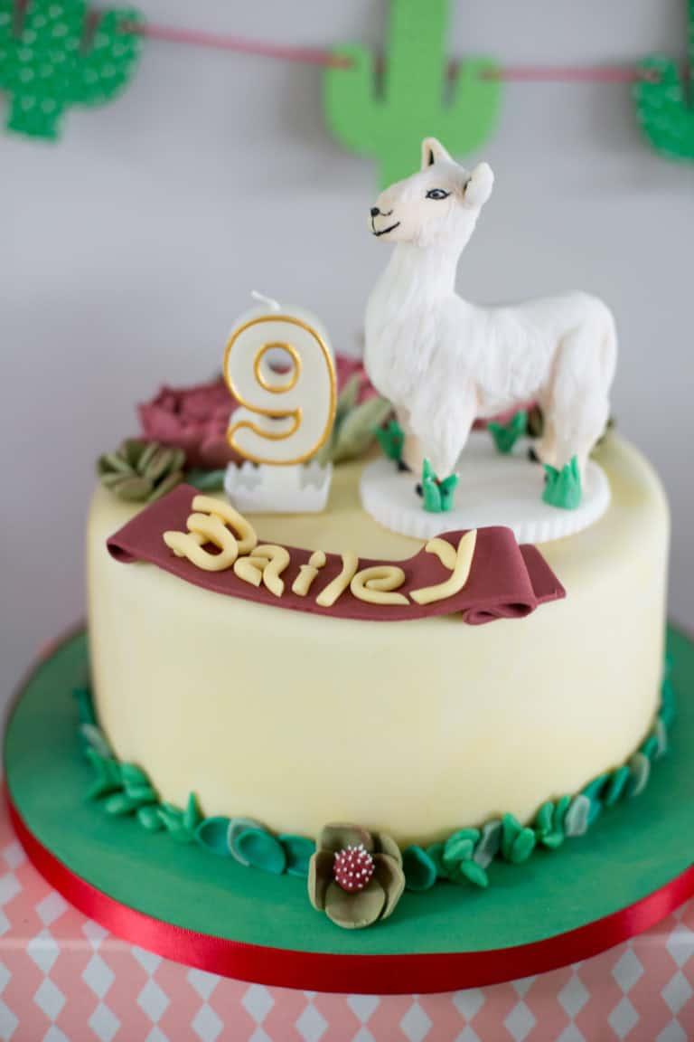 6 Awesome Llama Cakes Diy Thought