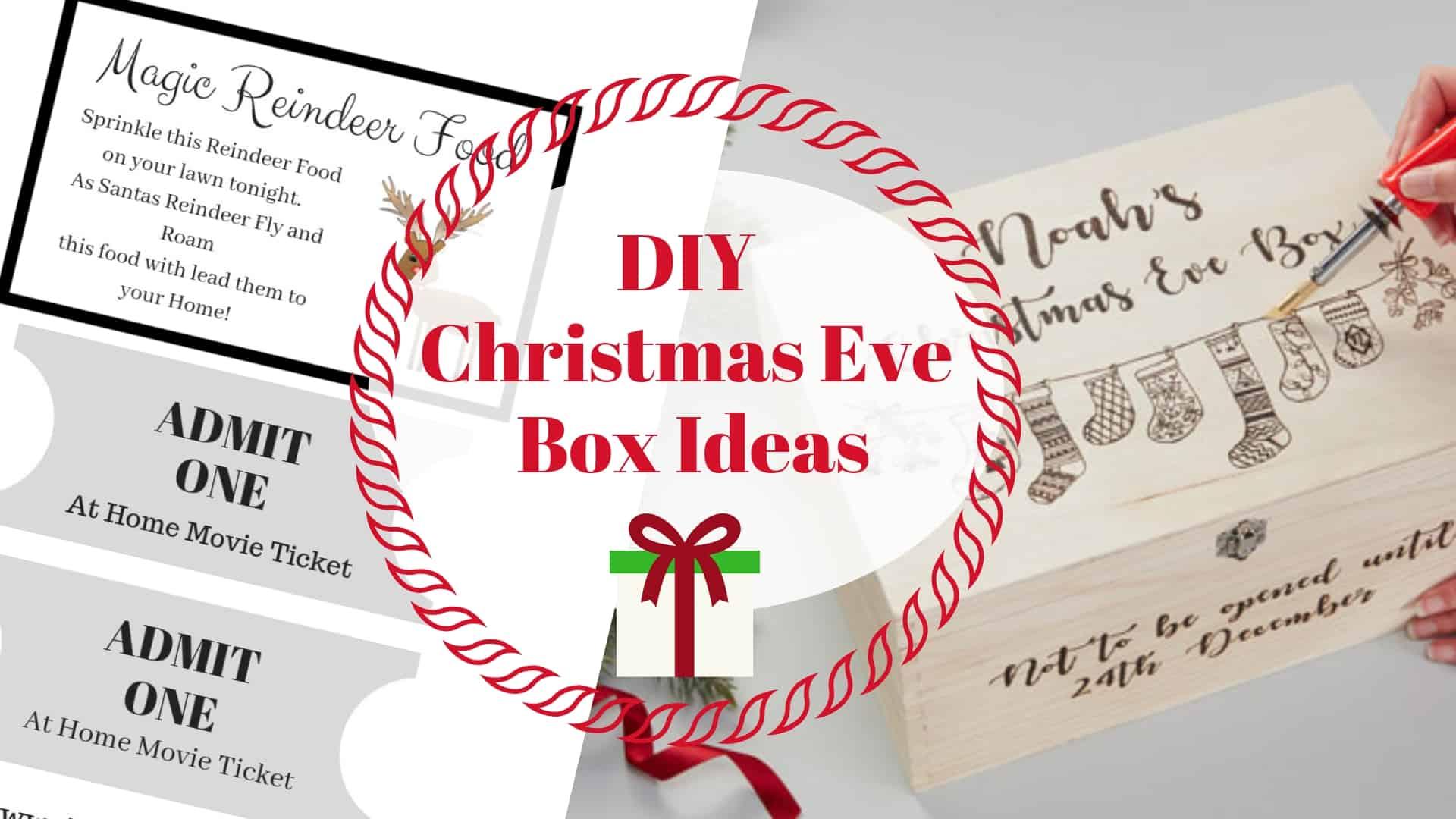 Christmas Eve Boxes Ideas.Diy Christmas Eve Box Ideas Diy Thought