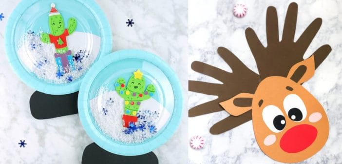 10 Fun & Easy Kids Christmas Crafts