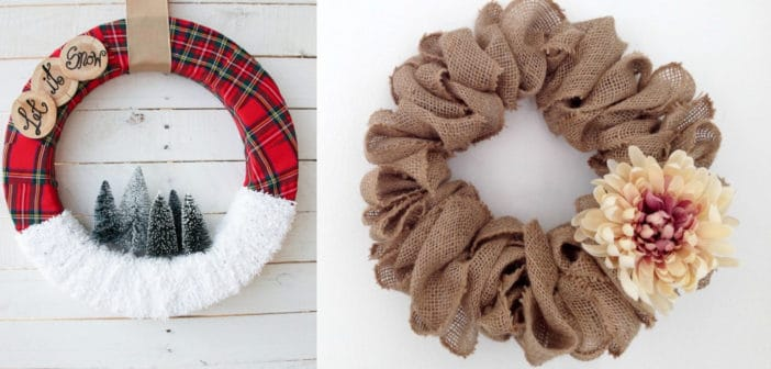 8 Stunning DIY Christmas Wreaths