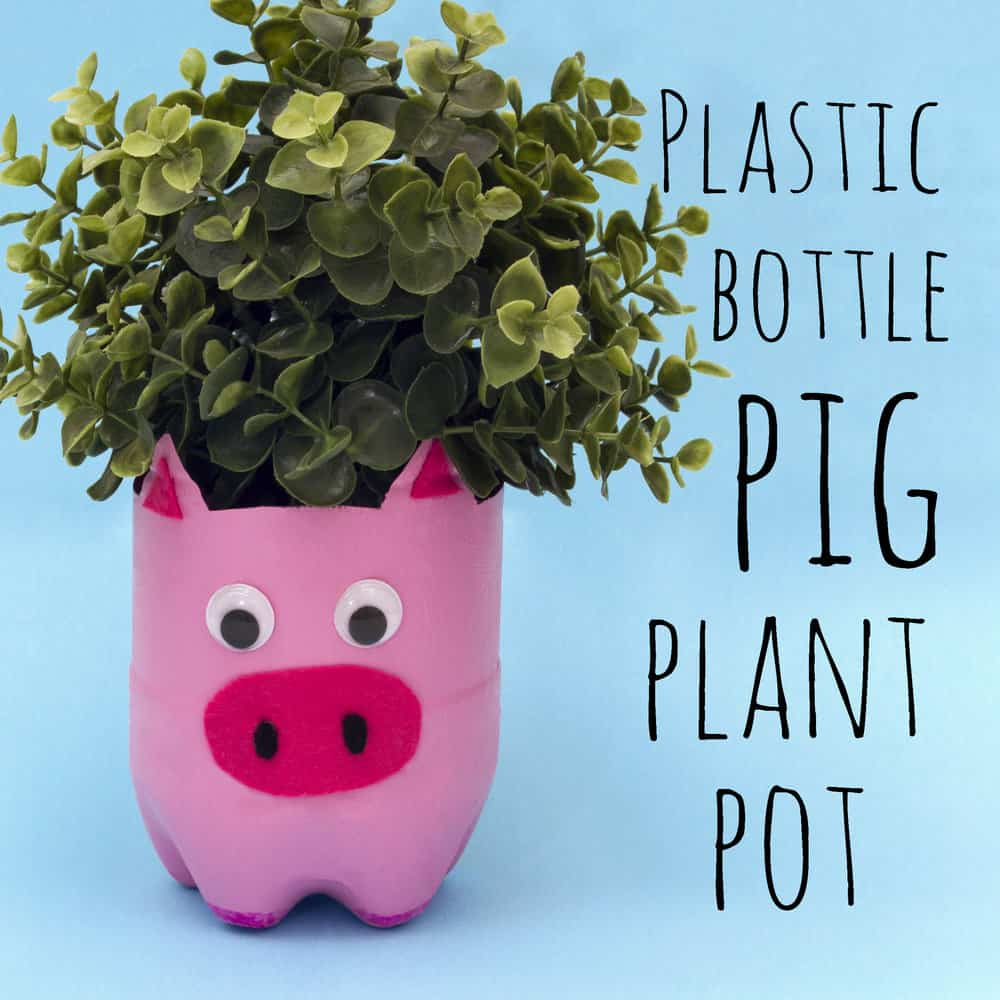 Recycled Plant Pots: 8 Pig Crafts For Chinese New Year