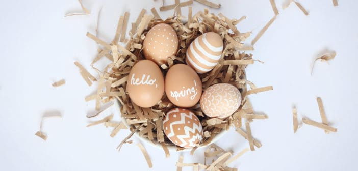 8 DIY Beautiful Decorative Easter Eggs