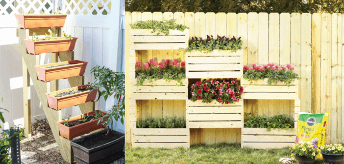 How To Build Your Own Vertical Garden