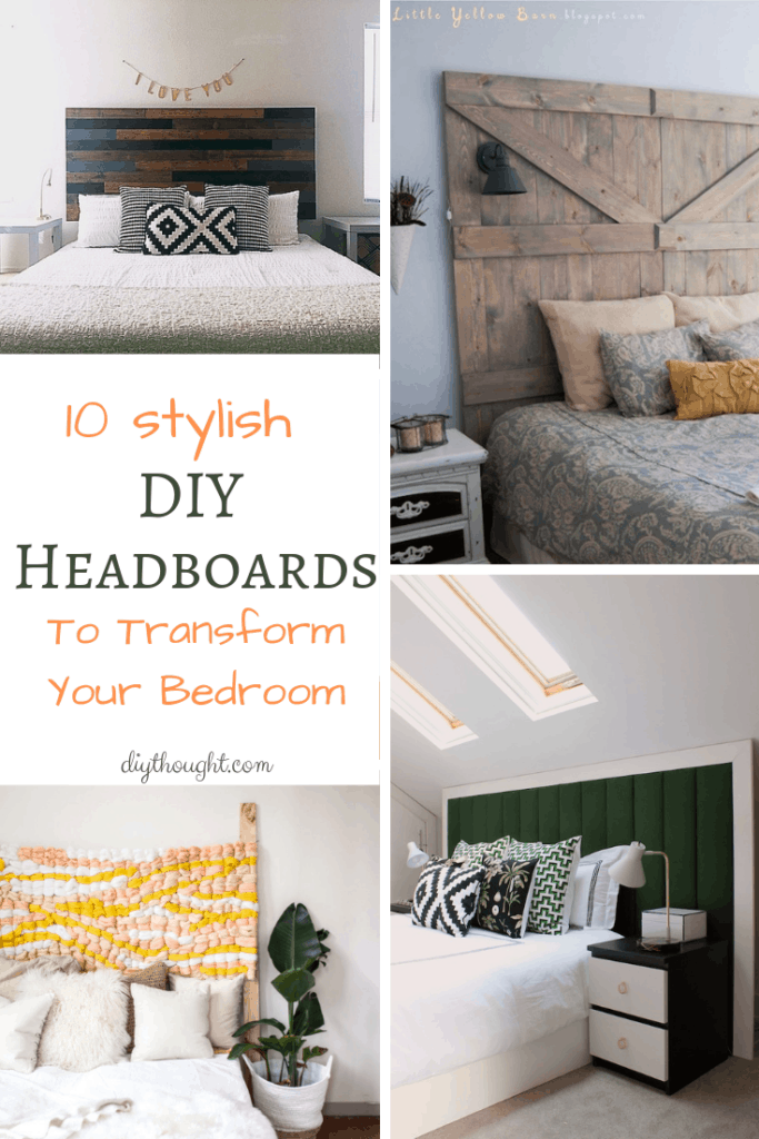 Stylish DIY headboards