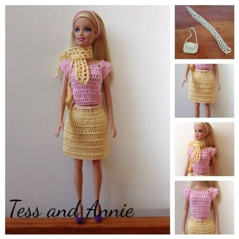 Barbie Spring Crochet Pattern