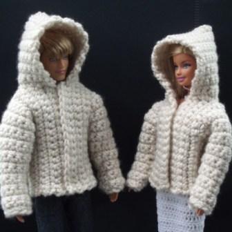crochet Barbie Jacket